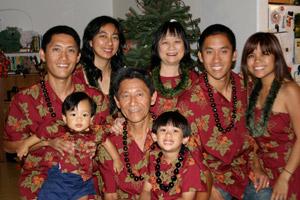 Leonard Mukai and Family