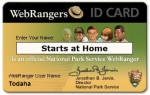 Get your Free Web Ranger Membership Card