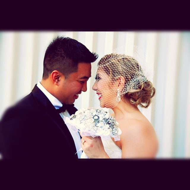 Happy One Year Anniversary to Ryan & Stephanie Quinajon-Lau. Married October 18, 2014