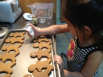 Making Fun Holiday Ginger Men Cookies