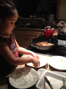 Toddlers Learning to Cook, give them a change and watch.